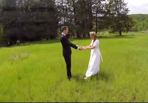 #PrêtàLiker : utiliser un drone pour son mariage ? Mauvaise idée !