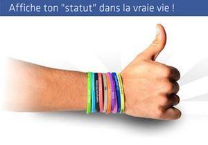 Votre statut Facebook s'affiche sur votre poignet