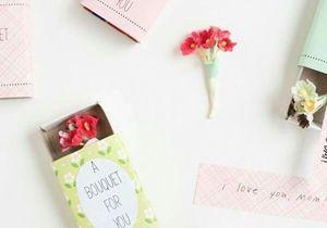 20 idées cadeaux de fête des mères à fabriquer soi-même