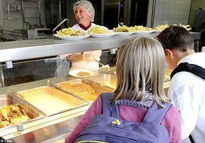 Cantines scolaires : les menus au régime diététique