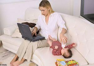 Etude: les mamans britanniques plus débordées que leurs mères