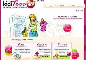 KidiTroc: l'échange de vêtements d'enfants en quelques clics