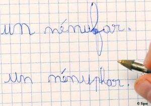 L'enseignement de l'orthographe refondé par le ministère