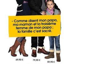 « La famille c'est sacré » : la campagne Eram fait polémique