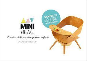 Mini Vintage : un salon de l'enfance rétro