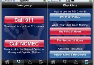 Une appli Iphone pour retrouver les enfants disparus