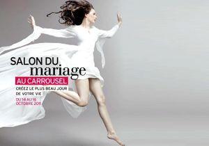 Des nouveautés s'invitent au Salon du Mariage au Carrousel