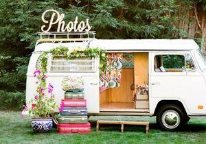 Photobooth : 20 idées déco pour prendre la pose avec ou sans les mariés