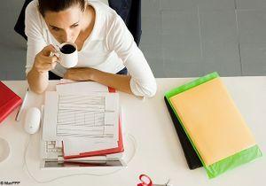 Travail : mincir sans stresser