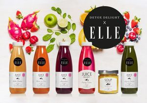 On craque pour la Beauty Cure Detox Delight X ELLE