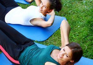 Des cours de fitness en plein air