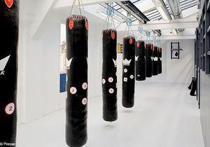 Un club de boxe très people