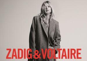 L'instant mode : Kate Moss dévoile une ligne de sacs pour Zadig & Voltaire