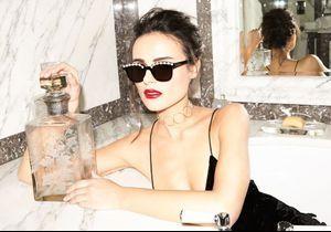 L'instant mode : les lunettes perlées Freda Banana pour un style à la Audrey Hepburn