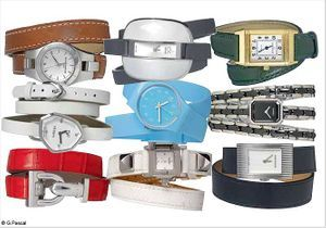 On veut toutes une montre à double tour