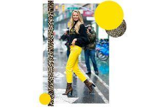 Gigi Hadid, Emma Roberts, Romee Strijd : toutes ces stars qui craquent pour les chaussures léopard