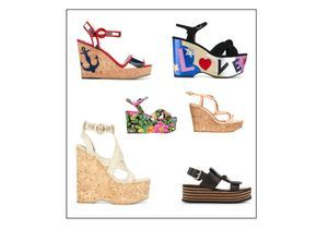 20 sandales compensées pour prendre l'été de haut
