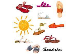 30 paires de sandales pour les beaux jours