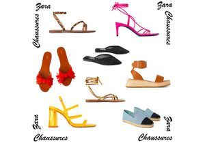 Voici les 20 plus belles chaussures Zara du moment