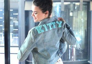 #DIY : Comment customiser une veste en jean avec Make my Lemonade ?