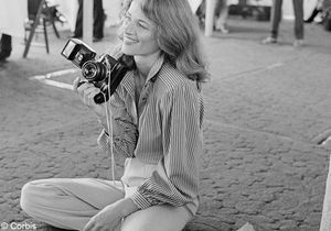 Comme une icône Charlotte Rampling