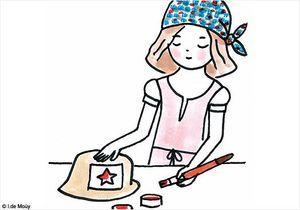 Do it yourself : Le chapeau de paille