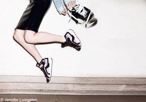 Les chaussures s'amusent