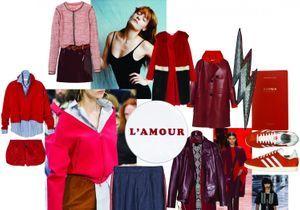 Moodboard #4 : Rouge baiser