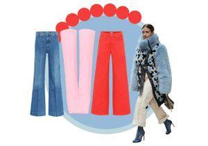 30 jeans taille haute qui font de belles fesses
