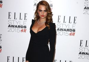 ELLE Style Awards 2015 : Cara Delevingne, rock en diamants Messika Haute Joaillerie