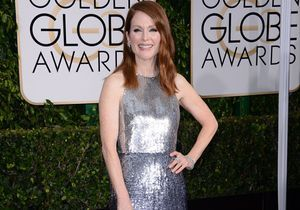 Golden Globes 2015 : les bijoux de Julianne Moore assortis à sa robe