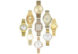 La montre dorée, l'accessoire bling qu'on adore