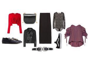 Comment porter une jupe longue noire sans avoir l'air austère
