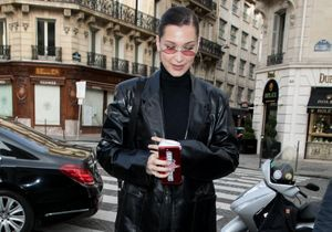 Bella Hadid nous montre comment porter le total look cuir
