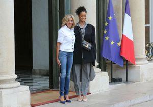 Brigitte Macron en jean confirme son statut de première dame du cool