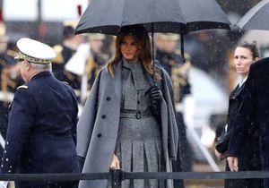 Brigitte Macron et Melania Trump : retrouvailles de premières dames très stylées sur les Champs Elysées