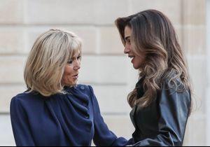 Brigitte Macron et Rania de Jordanie : rencontre au sommet des icônes mode