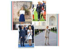 Brigitte Macron : ses 50 plus beaux looks de 2018