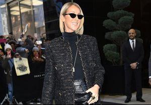 Céline Dion : elle pose dans la neige en legging Chanel