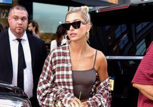 Cet accessoire porté par Hailey Baldwin montre son addiction à Justin Bieber