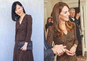Cette instagrameuse reproduit les looks de Kate Middleton à petit prix