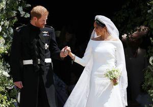 Confidences : pourquoi la reine Elisabeth II a été surprise par la robe de mariée de Meghan Markle