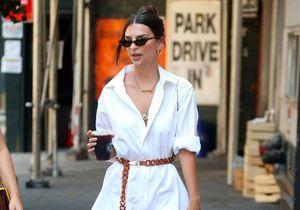 Emily Ratajkowski : sa robe chemise chic et sexy parfaite pour l'été
