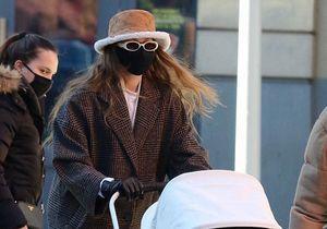 Gigi Hadid a trouvé le manteau parfait pour l'hiver en solde chez Mango