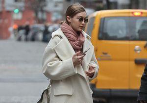 Gigi Hadid : on s'inspire de son look pastel pour affronter l'hiver