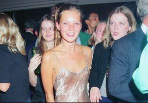 Histoire d'une tenue : la robe transparente de Kate Moss en 1993