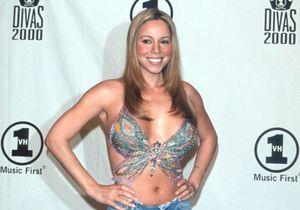 Histoire d'une tenue : le mini top papillon de Mariah Carey