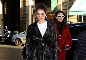 Kaia Gerber et son look nineties, stars de la semaine de la Haute Couture