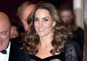 Kate Middleton plus sexy que jamais en robe transparente noire