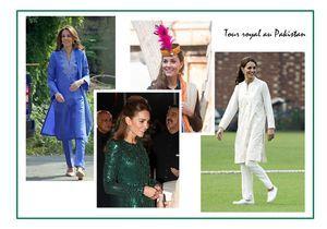 Kate Middleton : ses plus beaux looks en voyage au Pakistan